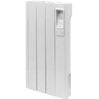 Creda CAR075 0.75kW Wall Mounted Aluminium Radiator With Electronic 7 Day Timer