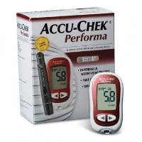 Accu-Chek Performa Glucometer - Blood Glucose Meter for Diabetics