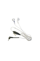 White Earphone bud style earpiece for the SRP Sepura radio