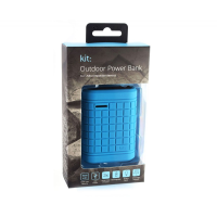 Water-resistant Emergency Phone Charger (Blue)