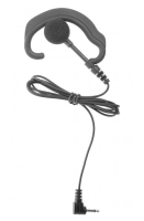Receive only Ear-Hook Earpiece with 2.5mm connector