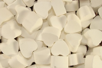 1kg Mini Bath HEARTS - SNOWMUSK
