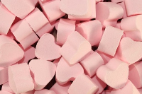 1kg Mini Bath HEARTS - ENGLISH ROSE