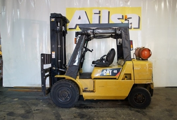 4 Ton Gas Warehouse Forklifts for Hire