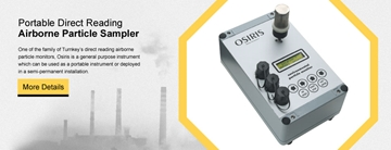 Osiris Portable, Direct Reading, Airborne Particle Sampler