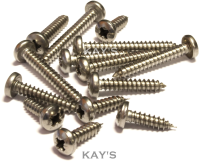 1000 Item Pack Stainless Steel Button Head Bolts, Nuts, Washers. M5, M6, M8