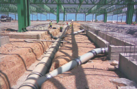 Dense Ceramic Materials For Drainage Systems