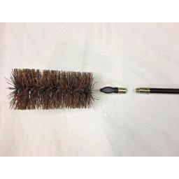 "5"" Inch Fits Drain Rods Flue Brush Suppliers"