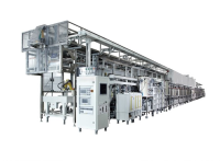 Double Track Vertical Continuous Plating Line