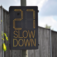 Vehicle Activated Speed Signs (VAS)