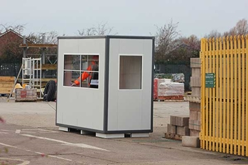Rental Of Worker Kiosks For Construction