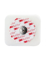 3M Red Dot Multi-purpose ECG Monitoring Electrodes With Sticky Gel Adult