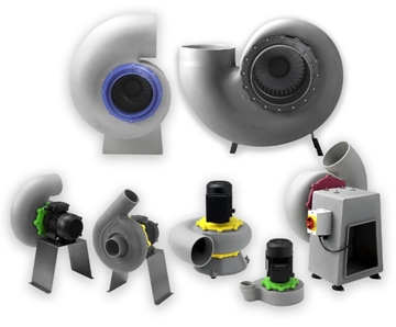Fume Extraction Fan & Component Specialists
