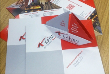 Exciting Origami Business Cards
