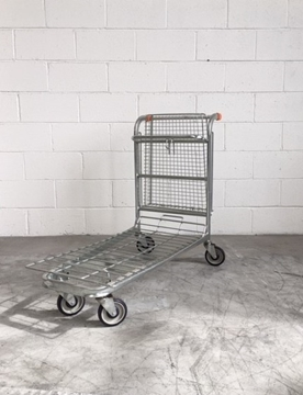 Used Nestable Stock Trolley