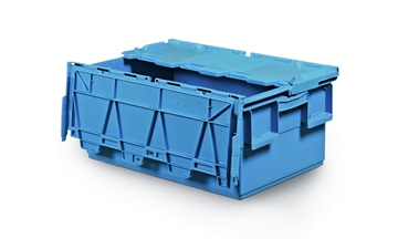 Plastic Boxes With Attached Lid
