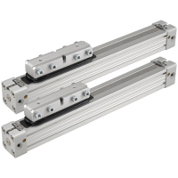 PL-00 Series Standard Unguided Rodless Pneumatic Cylinder