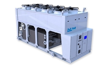 Packaged Air Chillers for Ice-Rinks