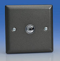 1 Gang 2 Way Graphite Touch Master Dimmer