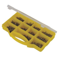 570pc Stainless Steel Screws In Carry Case