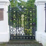 wrought and Cast Iron Ornamental Park Gates