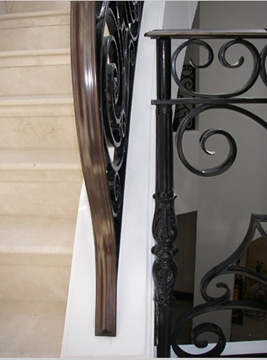 Curved Stair Balustrading