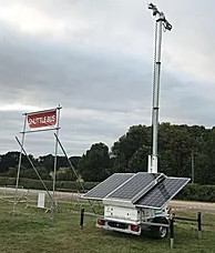 Solar Powered Tower Light Power Management Services