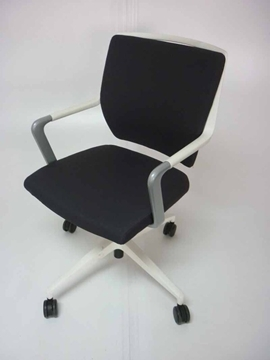Graphite Mobile Meeting Chair