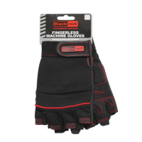 'Blackrock' Machine Gloves - Fingerless