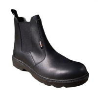 Black Dealer Safety Boots
