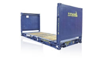 Non Standard Flat Rack Containers