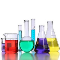 Chemicals at TAAB Laboratories Equipment