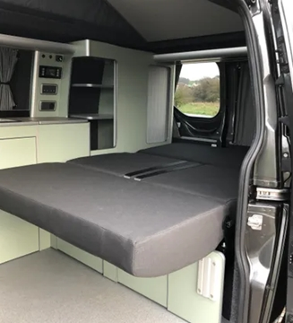Bespoke Part-Time Camper Removable Bed Base Specialists
