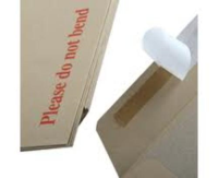 Recycled Brown C4 Board Back Envelopes pack 10
