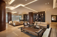 Colour Changing LED Hotel Lighting