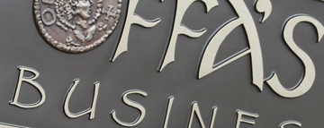 Bespoke Architectural Signs Manufactured In Bedfordshire