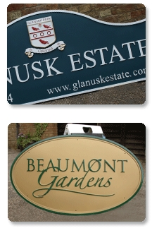 Estate Entrance Signs From Signs Of The Times