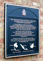 Specialist Commemorative Sign Makers