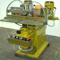 Brookman Twin Headed Horizontal Chain Morticer