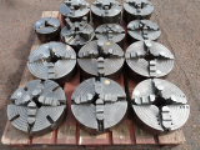 Colchester, Harrison, DSG and more 3 Jaw & 4 Jaw Heavy Duty Lathe Chucks