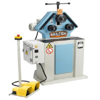 Used Baileigh R-M40 Section Bender Ring Roller