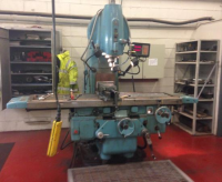 Used TOS V5 50int Vertical Milling Machine
