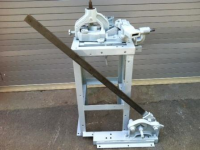 Used Whitney Hand Operated Bar Bender and Angle Cropper