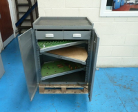 Used Versatool Tooling Cabinet With Swing Shelves