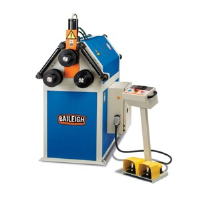Used Baileigh R-H55 Section Roller