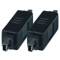 1394-4PM4PM - FireWire 1394 4 Pin Male Gender Changer Adapter Converter Connector - Firewire 4pin