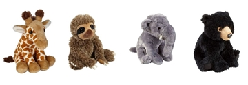 Suppliers Of Soft Animal Toys For Zoos