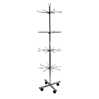 Mobile Lanyard Carousel Stands