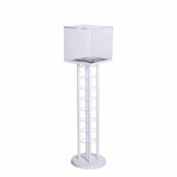 Floor Standing Collection Boxes For Business Cards