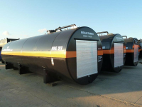 Enclosed Bunded Storage Tanks For Long Term Hire